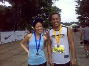 Classmate Jobaqs-Cramming 101!Congrats on your first Marathon!