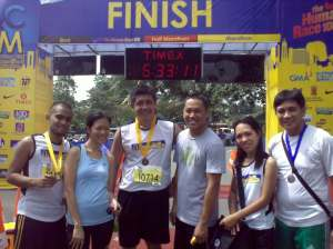 Class Picture-the Finishers of QCIM 101 with Mr. Congeniality-Kuya Raoul