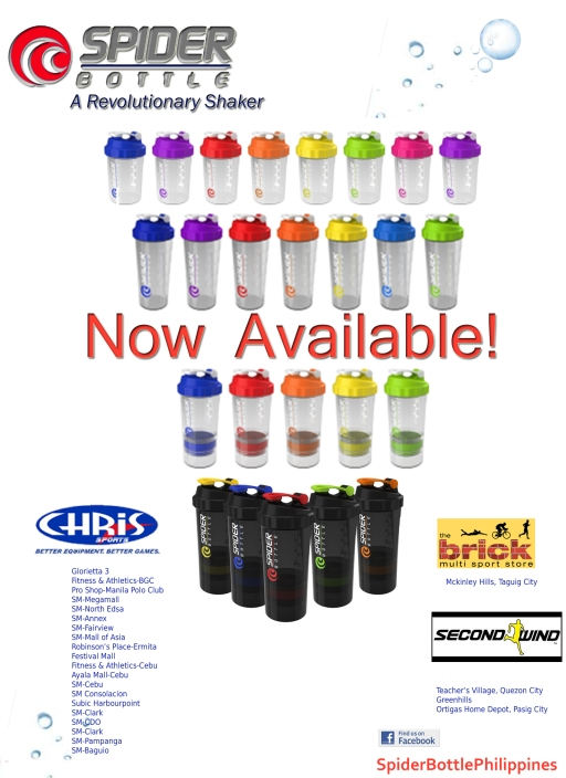 Spider Bottle - a revolutionary shaker with the best 2go feature www,facebook.com/spiderbottlephilippines