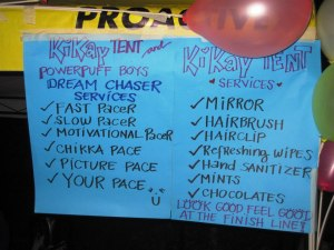 The Kikay Tent with everything you need to finish strong!