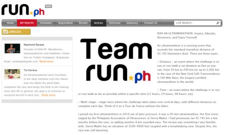 Run an Ultramarathon:Inspire, Educate, Reconnect & Enjoy Yourself