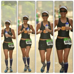 Milo Marathon at the last 10Kilometers. It's always great to have Tong Pascua of Photo-ops around.