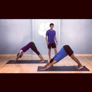 Cross training thru Yoga at MYyogaworks online