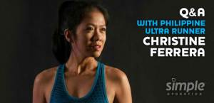 Happy to be working closely with Simple Hydration US and also having their support... http://www.simplehydration.com/qa-with-philippine-ultra-runner-christine-ferrera/