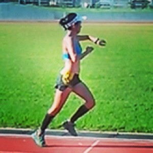 Intense run on Tuesdays chasing my training buddy, Iah.