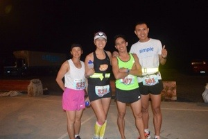 50K eventual winners: 2nd Female - Melinda Delos Reyes.  First and Third Male- Rene Desuyo and Frank Indapan