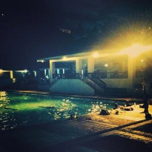 Swim Squad swimming while I watch :p