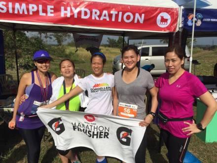 Proud Marathoners