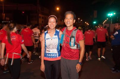 Condura Ambassador Patrick Concepcion was there to welcome us. What more can runners ask for?
